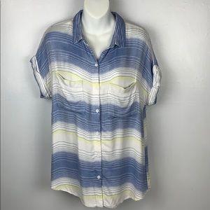 Beach Lunch Lounge Madras Stripe Shirt